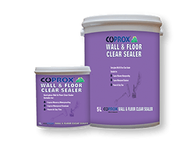 Coprox clear sealer