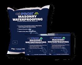 Coprox masonry waterproofing